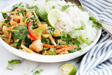 My Best Thai Red Curry Chicken