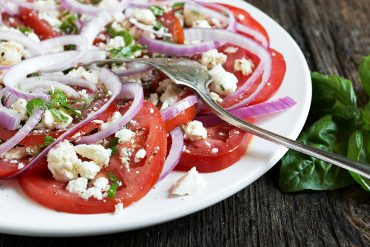 Classic Tomato Feta Salad