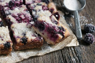 Blackberry Pie Squares