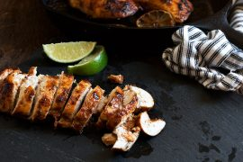 Oven or BBQ Chili Lime Chicken