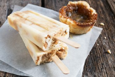 Butter Tart Popsicles