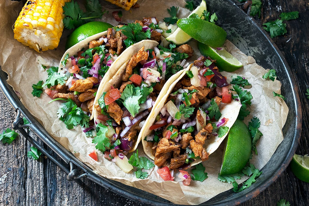 Easy Tacos Al Pastor Seasons And Suppers