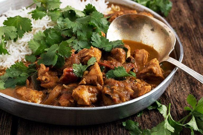Weeknight Chicken Coconut Curry