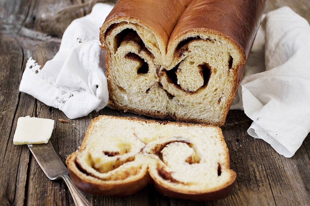 Double Swirl Cinnamon Bread Seasons And Suppers