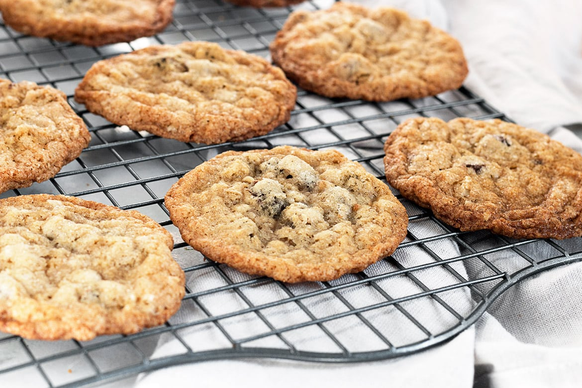 Oatmeal Chocolate Chip Cookies Seasons And Suppers