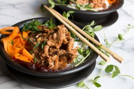 Spicy Pork and Rice Bowl
