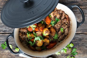 Marsala Braised Pork with Carrots and Potatoes