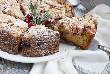 Cranberry Almond Coffee Cake