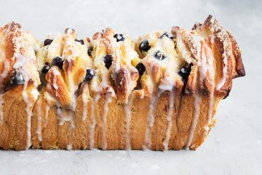 Blueberry Lemon Pullapart Bread