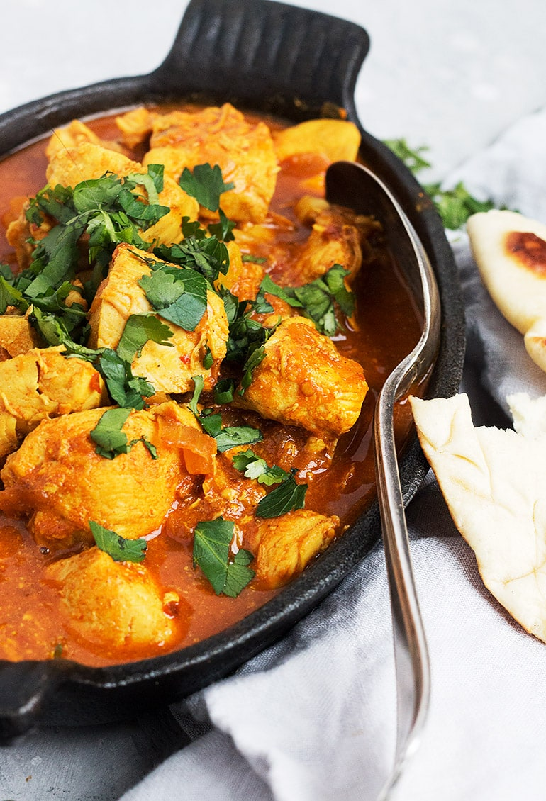 Easy Weeknight Chicken Vindaloo