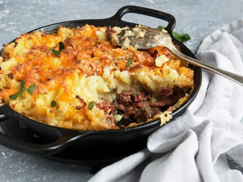 Corned Beef Cottage Pie Seasons And Suppers