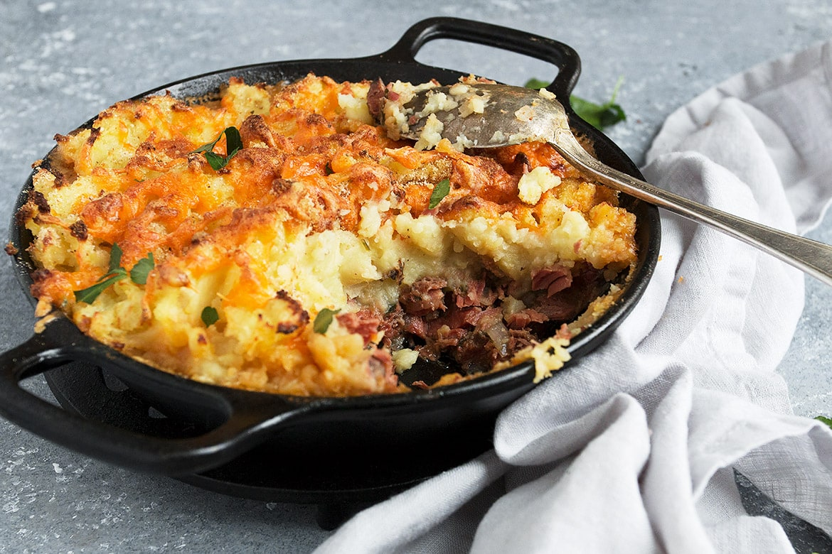 Corned Beef Cottage Pie