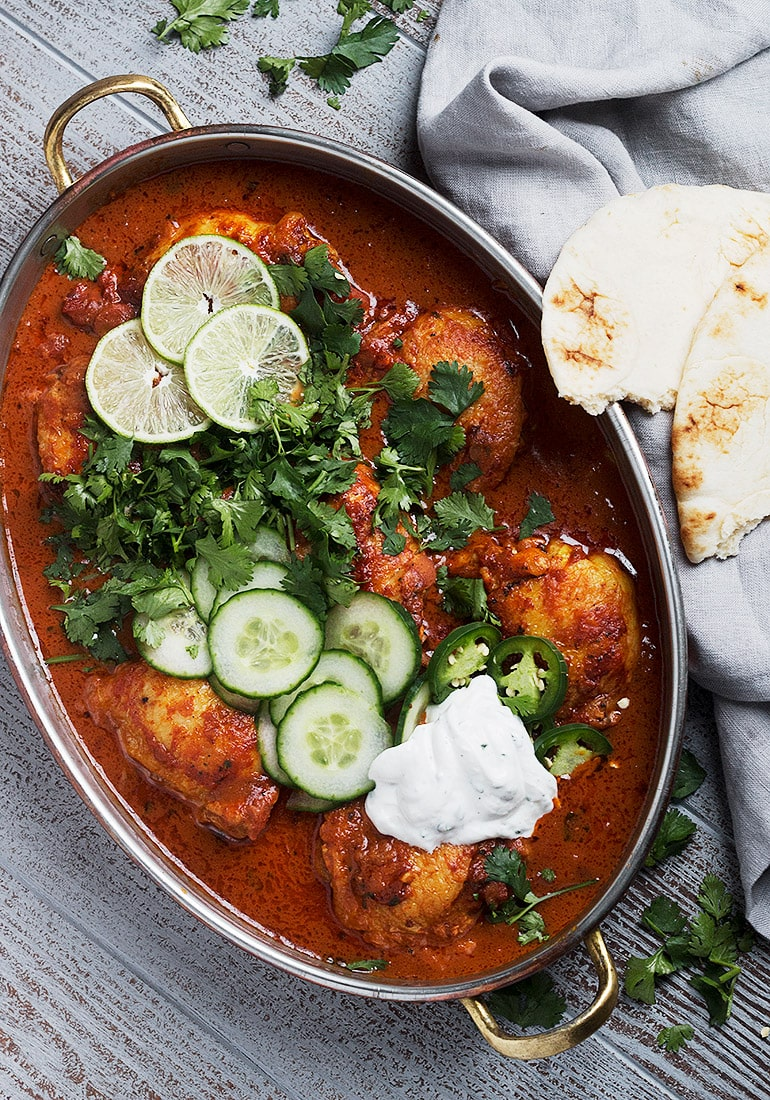 Butter Chicken Thighs Seasons And Suppers