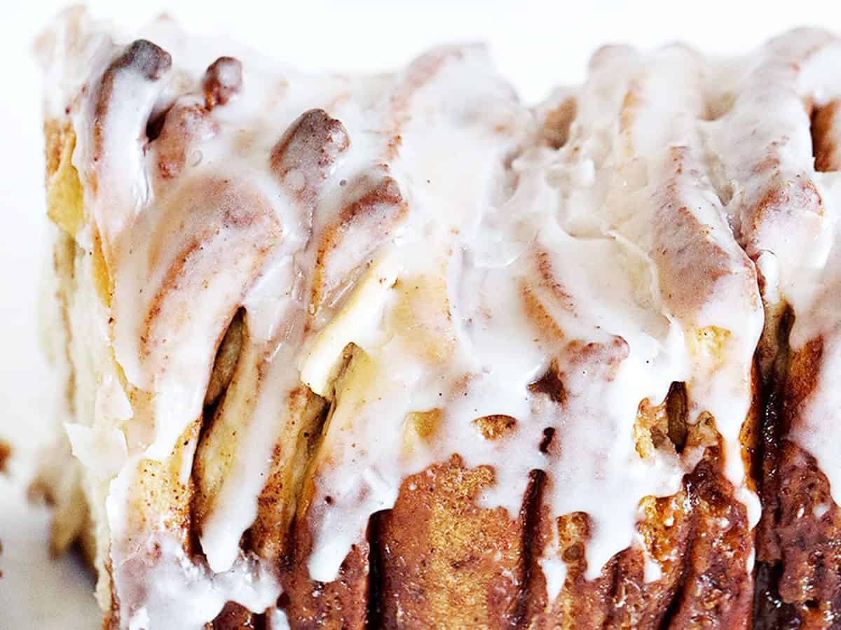 apple fritter pull apart bread pulled apart