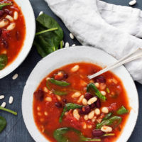 bean soup recipe category header image