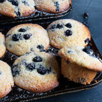 muffin recipe category header image