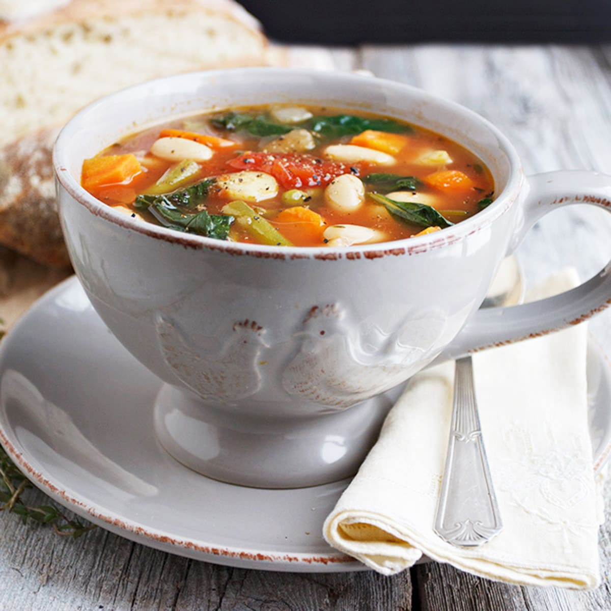 vegetable soup recipe category header image