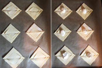 Shaping Puff Pastry Appetizers 3