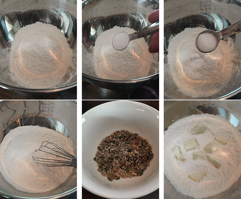 step by step photos of making no yeast bread 1 of 3