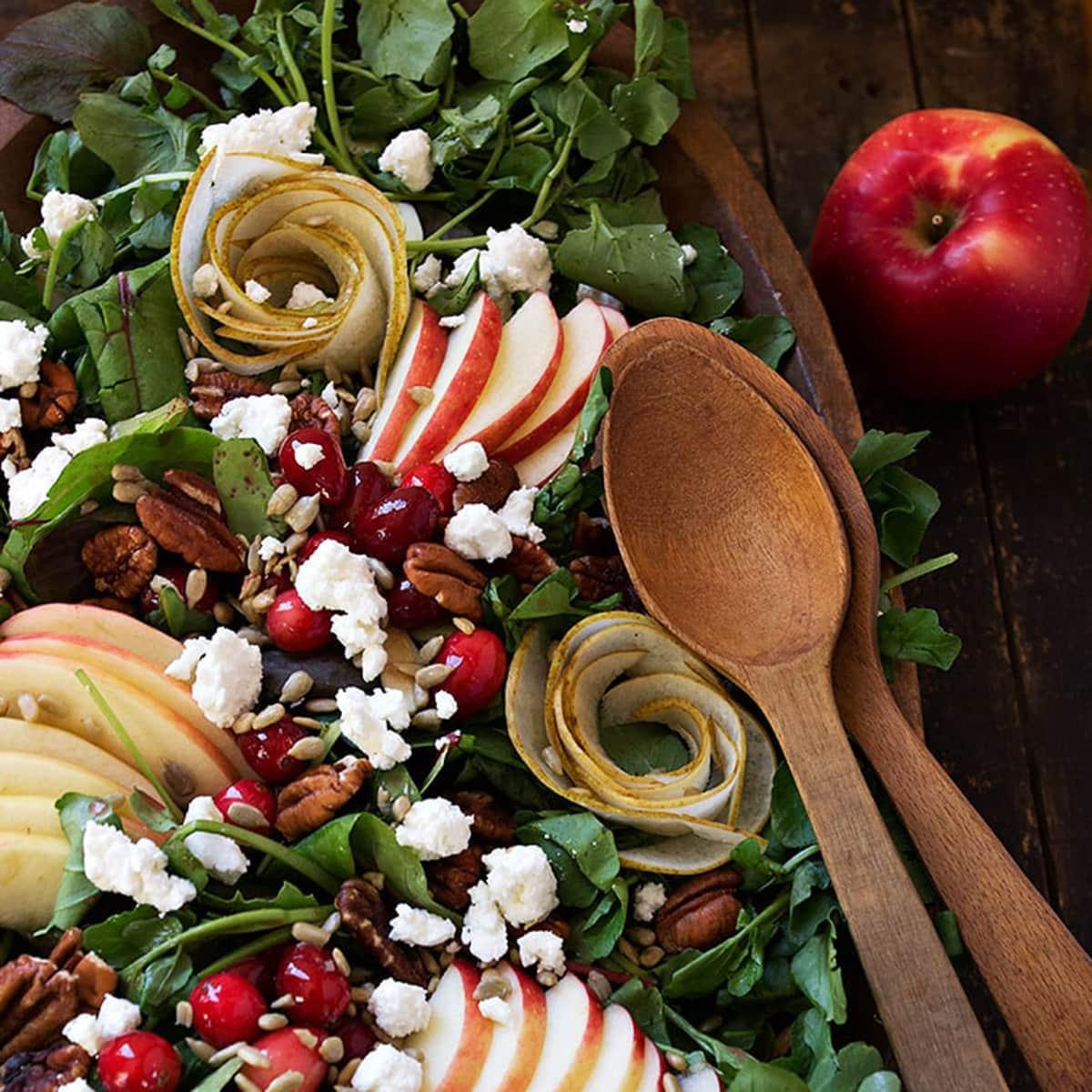 salad recipes header