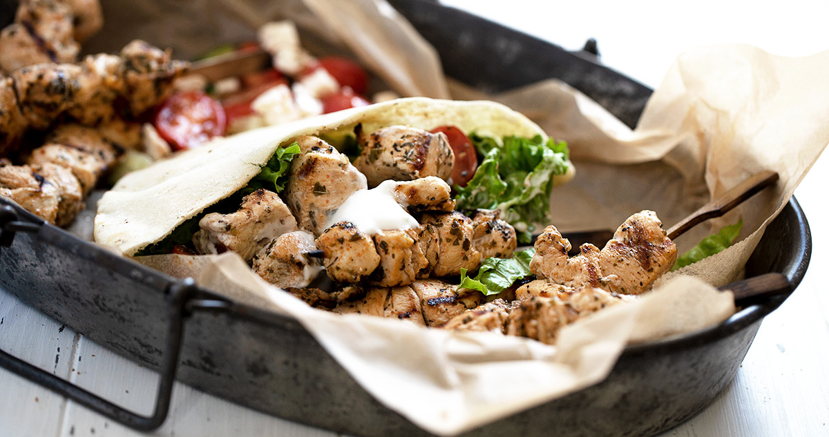 Chicken Souvlaki Pitas Seasons And Suppers