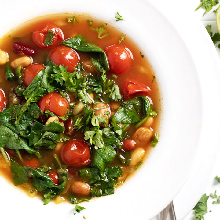 Quick And Easy Moroccan-Inspired Bean Soup
